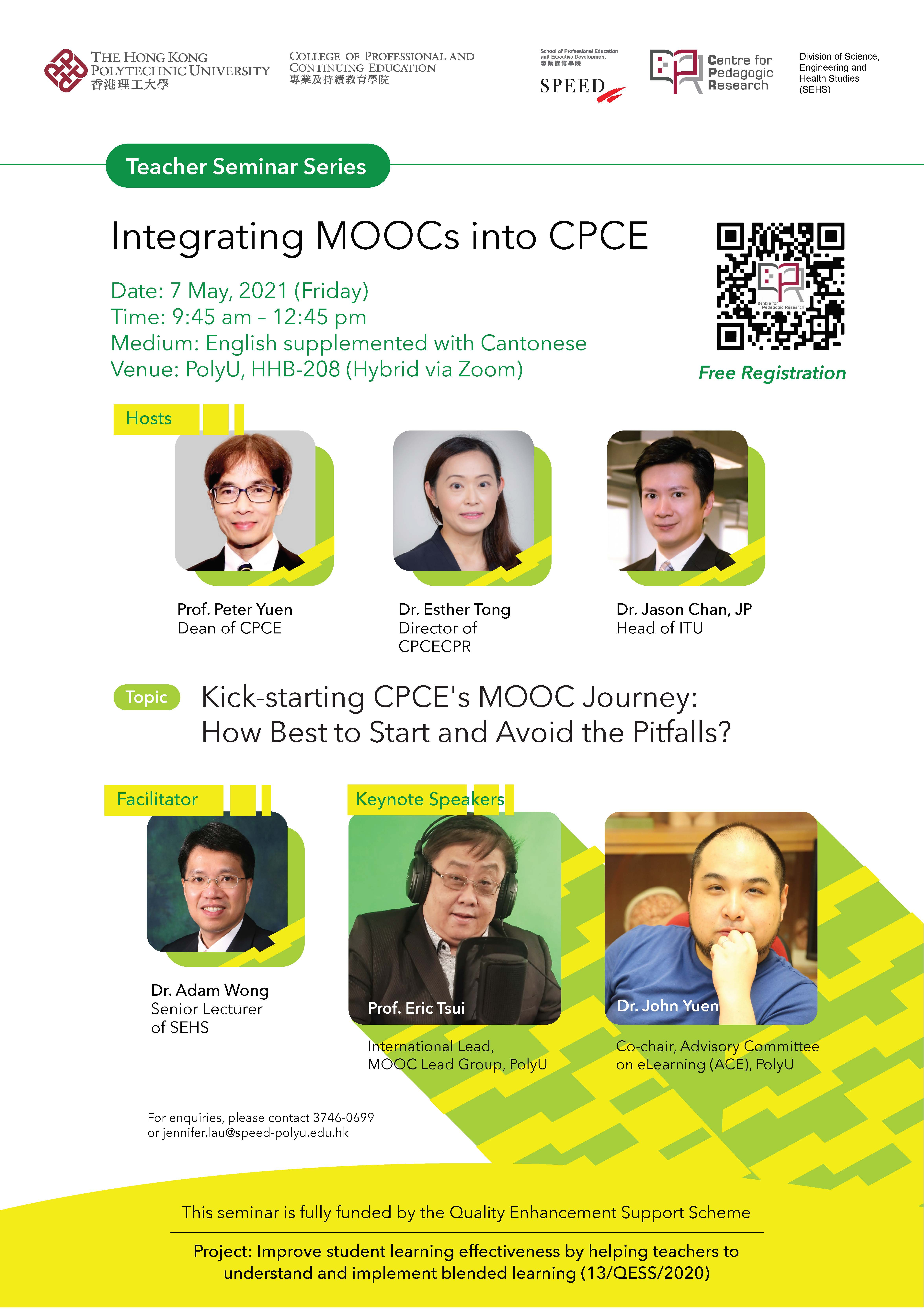 Integrating MOOCs into CPCE